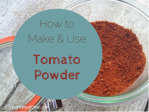 How to make tomato powder - LivingHomegrown.com