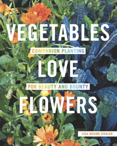 Vegetables Love Flowers by Lisa Mason Ziegler on LivingHomegrown.com