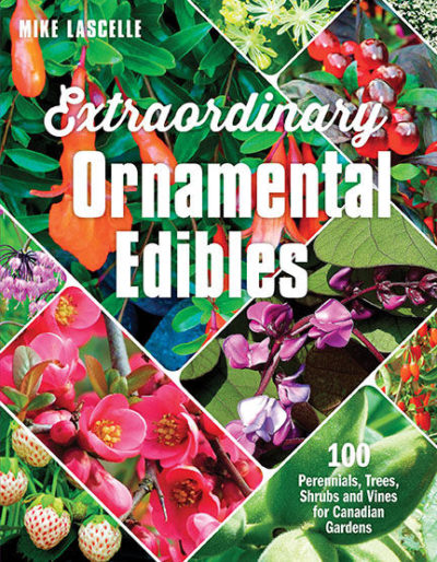 Extraordinary Ornamental Edibles Cover - www.LivingHomegrown.com