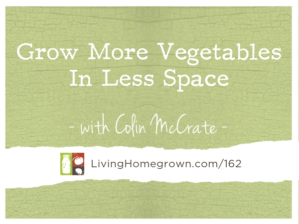 Grow More Vegetables In Less Space - www.LivingHomegrown.com